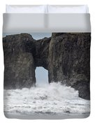 Storm Rock Duvet Cover