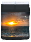 Sunrise At Kapaa - Kauai Duvet Cover