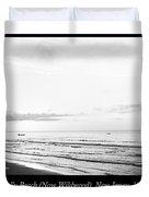 Sunrise, Holly Beach, Now Wildwood, New Jersey, 1907 Duvet Cover