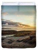 sunset Iceland Duvet Cover