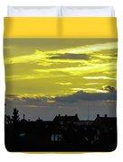 Sunset In Koln Duvet Cover