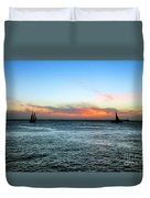 Sunset Key West  Duvet Cover