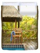 Tahiti Bora Bora Duvet Cover