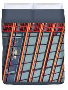 Tall Building Showing Colors #2 Duvet Cover