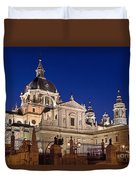 The Almudena Cathedral Duvet Cover