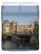 The Bridges Of Amsterdam Duvet Cover