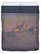 The Church Of San Giorgio Maggiore, Venice Duvet Cover