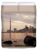 The City Of Toronto Duvet Cover