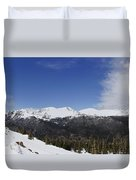 The Continental Divide Duvet Cover