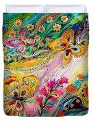 The Dance Of Butterflies Duvet Cover