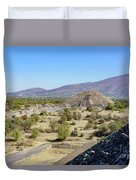 The Famous Pyramid Of The Moon Duvet Cover