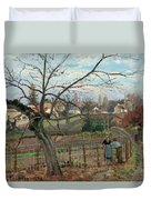The Fence Duvet Cover
