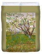 The Flowering Orchard Duvet Cover