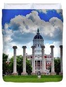 The Francis Quadrangle - University Of Missouri Duvet Cover