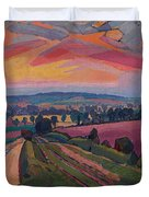 The Icknield Way Duvet Cover