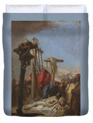 The Lamentation At The Foot Of The Cross   Duvet Cover