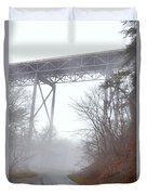 The New River Gorge Bridge Duvet Cover