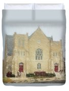 The Old Church Duvet Cover