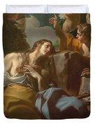 The Penitent Magdalen Duvet Cover