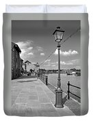 The Promenade At Barton Marina Duvet Cover
