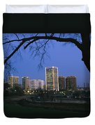 The Richmond, Virginia Skyline Duvet Cover
