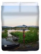 The River Suir Duvet Cover