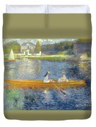 The Skiff Duvet Cover