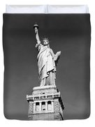 The Statue Of Liberty Duvet Cover