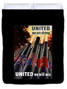 The United Nations Fight For Freedom Duvet Cover