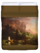 The Voyage Of Life - Childhood Duvet Cover