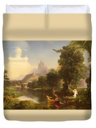 The Voyage Of Life - Youth Duvet Cover