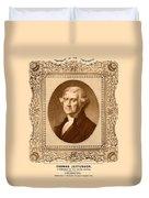 Thomas Jefferson Duvet Cover
