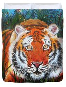 Tiger- Large Work Duvet Cover