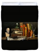 Time And Old Friends Duvet Cover