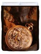 Time... Duvet Cover