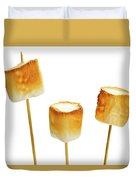 Toasted Marshmallows Duvet Cover