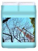 Tokyo Tower Duvet Cover