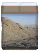 Towers Of Silence, Iran Duvet Cover