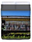 Train Art Duvet Cover