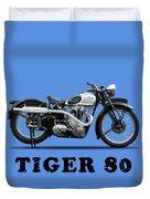 Triumph Tiger 80 1937 Duvet Cover