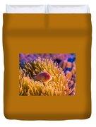 Tropical Fish Pink Clownfish Duvet Cover
