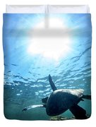 Turtles View Duvet Cover