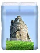 Tutbury Castle Ruins Duvet Cover