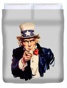 Uncle Sam Duvet Cover