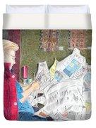 Unwrap Duvet Cover