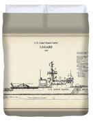 U.s. Coast Guard Cutter Legare Duvet Cover
