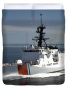 U.s. Coast Guard Cutter Waesche Duvet Cover