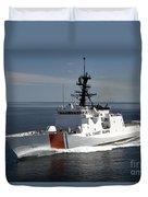 U.s. Coast Guard Cutter Waesche Duvet Cover