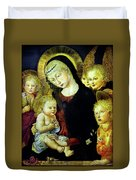 Virgin And Child  Duvet Cover