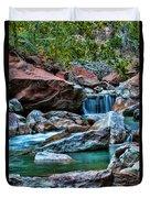 Virgin River Zion  Duvet Cover